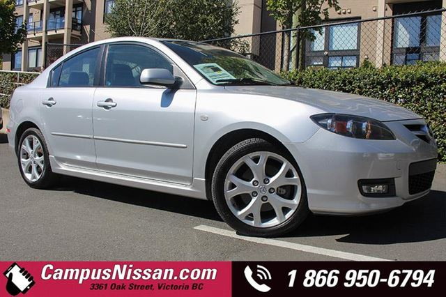 2008 MAZDA MAZDA3 GT in Victoria, British Columbia