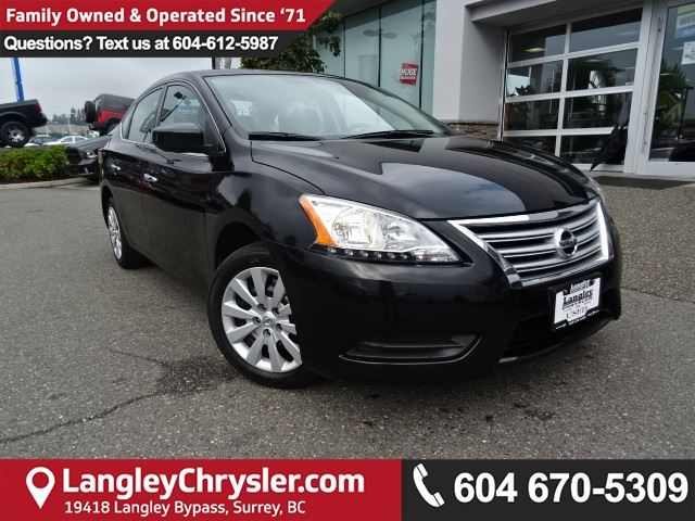 2013 NISSAN SENTRA 1.8 S *ACCIDENT FREE* TWO OWNER*LOCAL BC CAR* in Surrey, British Columbia