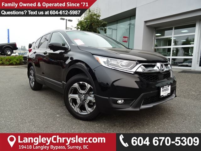 2017 HONDA CR-V EX-L *ACCIDENT FREE*ONE OWNER*LOCAL BC SUV* in Surrey, British Columbia