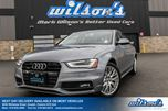 2015 Audi A4 KOMFORT PLUS AWD! LEATHER! SUNROOF! HEATED SEATS! CONVENIENCE PACKAGE! 17 ALLOYS! in Guelph, Ontario