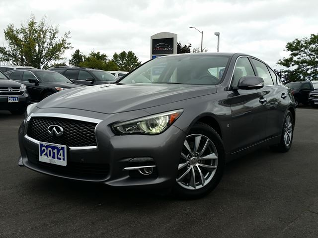 2014 INFINITI Q50 LUXURY AWD SEDAN-TECH PKG-NAVIGATION in Belleville, Ontario