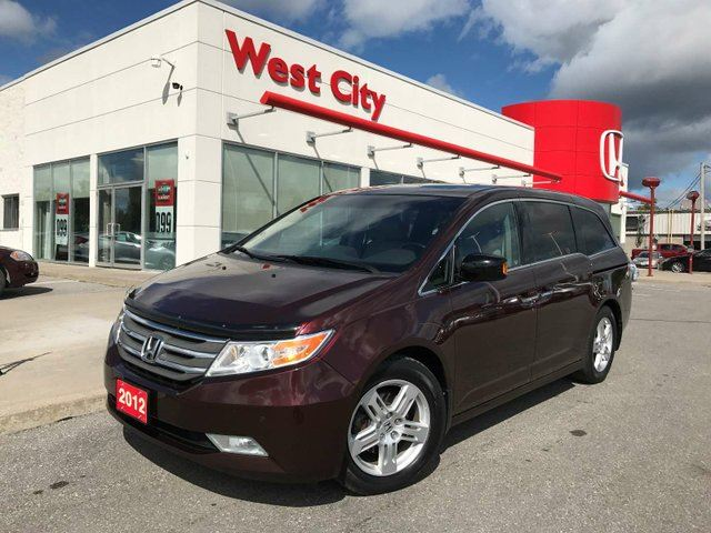 2012 HONDA ODYSSEY Touring - GPS,LEATHER,LOADED! in Belleville, Ontario