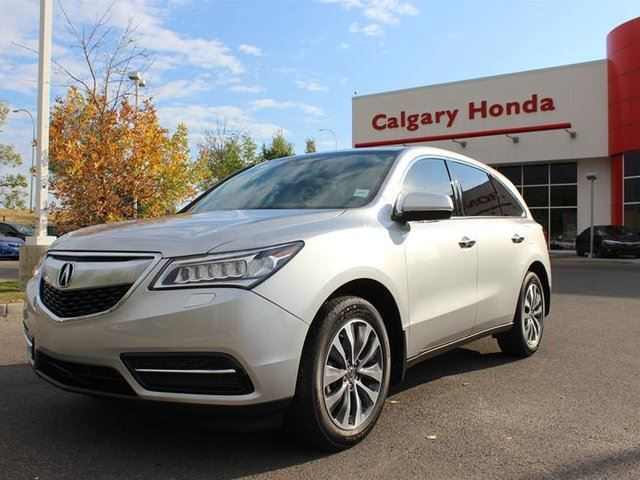 2015 ACURA MDX at in Calgary, Alberta