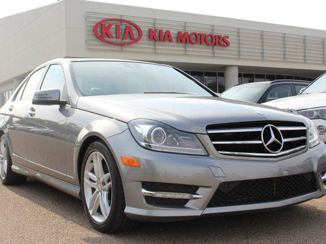 2014 MERCEDES-BENZ C-CLASS C 300 4MATIC, DUAL SUNROOF, NAVI, HEATED SEATS, CRUISE CONTROL, BLUETOOTH, USB in Edmonton, Alberta