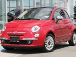 2013 Fiat 500 Fiat 500 Lounge | Beats Audio | Manual Transmission | Rosso Brillante Red Tint-Coat in Kamloops, British Columbia