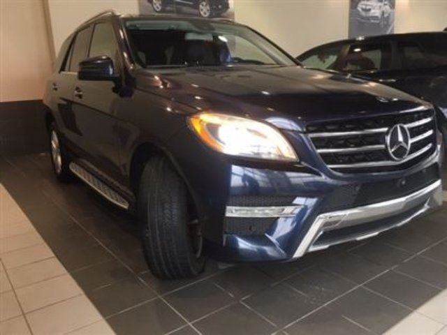 2014 MERCEDES-BENZ M-CLASS ML 350 Moonroof Heated seats AWD in Red Deer, Alberta