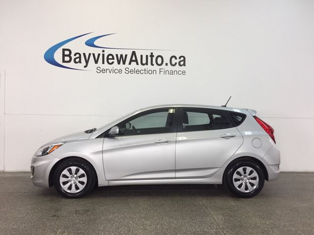 2016 HYUNDAI ACCENT - GDI! HEATED SEATS! BLUETOOTH! CRUISE! A/C! in Belleville, Ontario