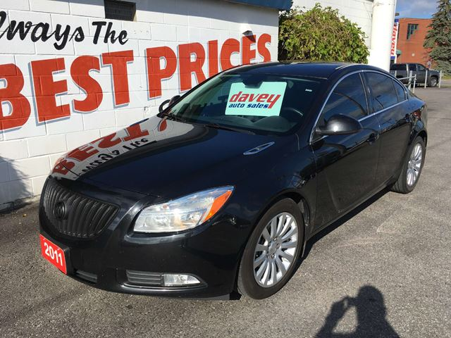 2011 BUICK REGAL CXL REVERSE SENSOR, POWER HEATED LEATHER SEATS in Oshawa, Ontario