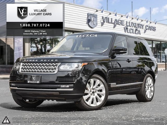 2013 LAND ROVER RANGE ROVER Supercharged NAVIGATION | COOLED SEATS | REAR CAMERA in Markham, Ontario