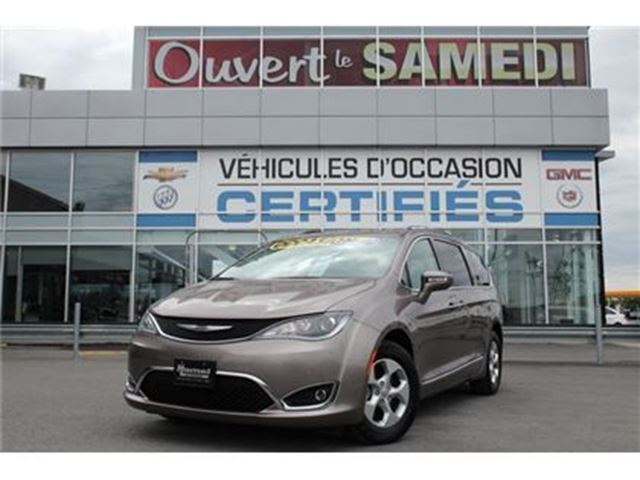 2017 CHRYSLER Pacifica TOURING L PLUS /TOIT PANO/2 TVDVD/ in Montreal, Quebec