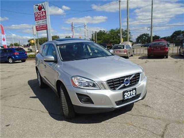 2010 VOLVO XC60 AUTO AWD 2 SETS OF TIRS AND RIMS SMART KEY BUILT I in Oakville, Ontario
