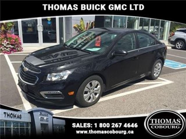 2015 CHEVROLET CRUZE 1LT - $111.21 B/W - Low Mileage - 160 in Cobourg, Ontario