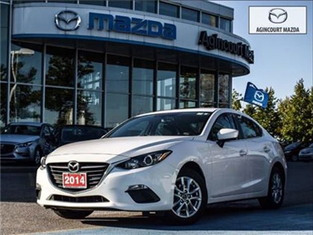 2014 MAZDA MAZDA3 GS-SKY** ONE OWNER & ACCIDENT FREE! in Scarborough, Ontario
