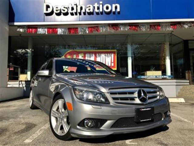 2010 MERCEDES-BENZ C-CLASS C300 4MATIC in Vancouver, British Columbia