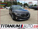 2014 Mazda MAZDA3 Sport H.B.+GS-SKY+GPS+Camera+Sunroof+Heated Seats+ in London, Ontario