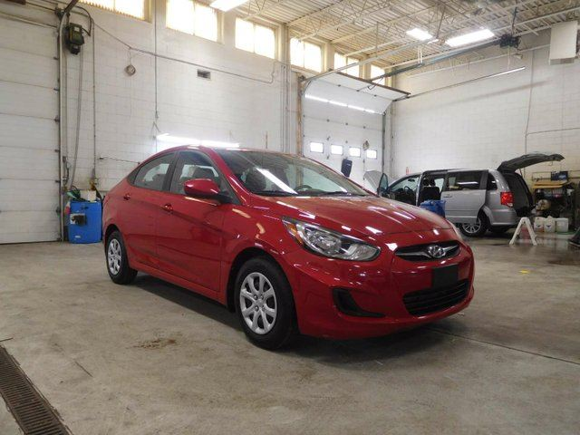 2012 HYUNDAI ACCENT 4Dr GL at in Calgary, Alberta