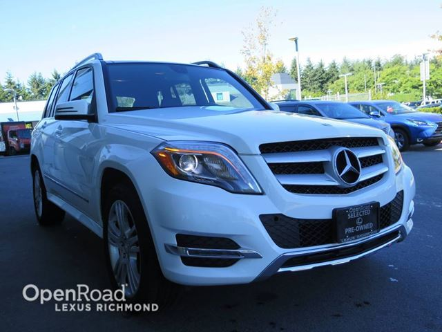 2015 MERCEDES-BENZ GLK-CLASS GLK 250 BlueTec - One Owner in Richmond, British Columbia