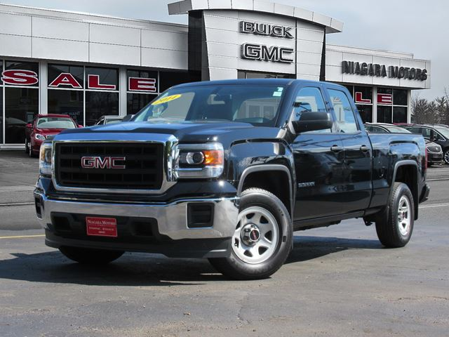 2014 GMC Sierra 1500 Base Double Cab 2WD  **Purchased, Serviced AND  in Virgil, Ontario