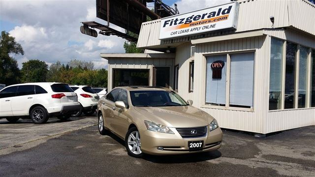 2007 LEXUS ES 350 PREM PKG - LEATHER! SUNROOF! in Kitchener, Ontario