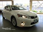 2012 Lexus CT 200h Leather Interior, Heated Front Seats, Bluetooth in Port Moody, British Columbia