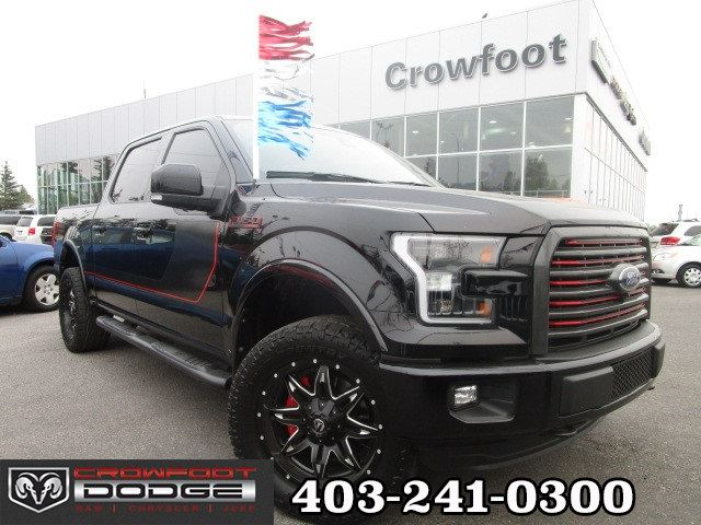 2016 FORD F-150 LARIAT FULLY LOADED!! SUPERCREW 4X4 in Calgary, Alberta