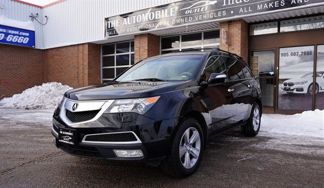 2011 ACURA MDX Tech Pkg 7 PASSENGER NO ACCIDENT NAVI BACK-UP D in Mississauga, Ontario
