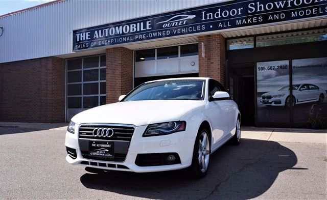 2012 Audi A4 2.0T QUATTRO AWD PREMIUM NO ACCIDENT in Mississauga, Ontario