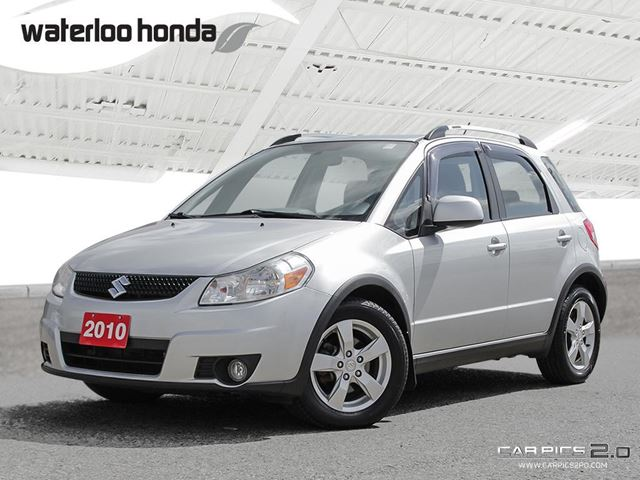 2010 SUZUKI SX4 JLX Sold Pending Customer Pick Up...Includes Nokian Snow Tires (as traded). AWD, A/C and more! in Waterloo, Ontario