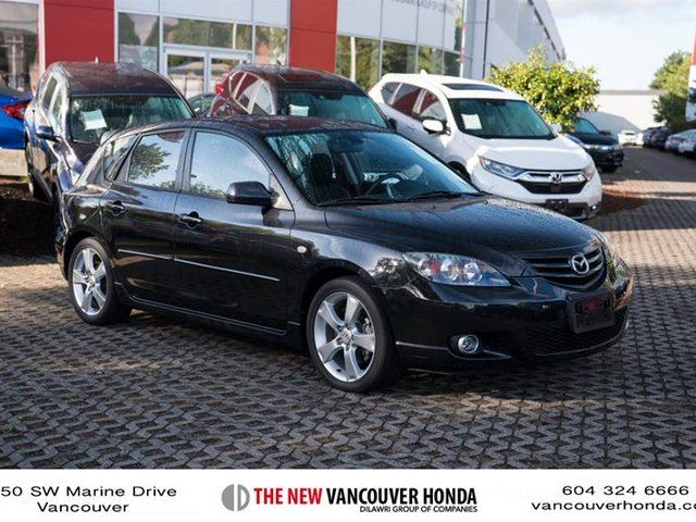 2005 MAZDA MAZDA3 GT at in Vancouver, British Columbia