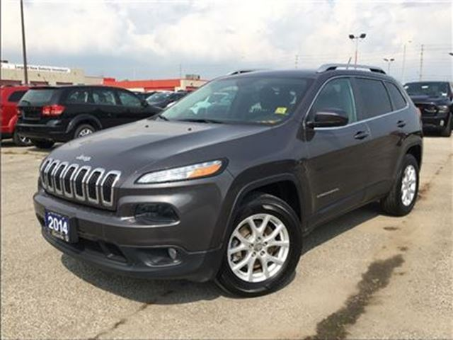 2014 JEEP Cherokee NORTH**4X4**8.4 TOUCHSCREEN**NAV**BACK UP CAM** in Mississauga, Ontario