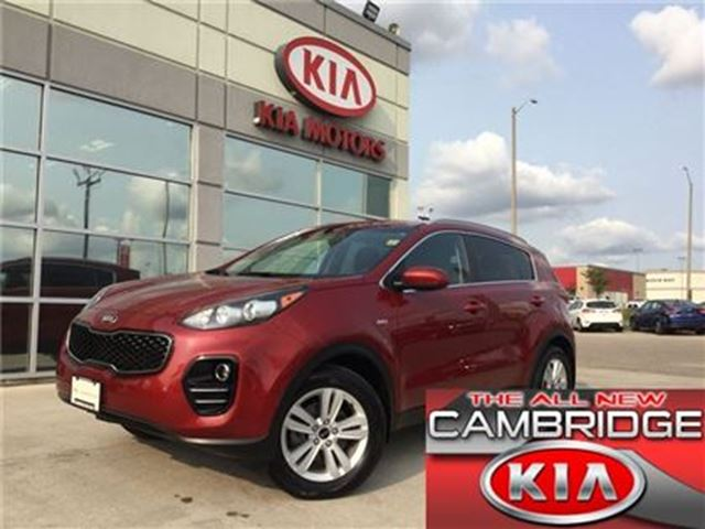 2017 Kia Sportage LX AWD KIA CERTIFIED PRE-OWNED in Cambridge, Ontario