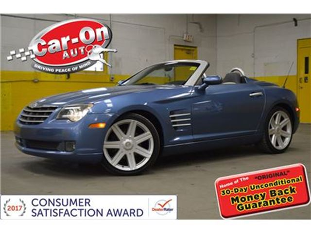 2005 CHRYSLER Crossfire Limited CONVERTIBLE AUTO LEATHER FULL POWER GROUP in Ottawa, Ontario