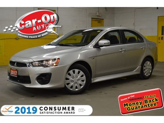 2017 MITSUBISHI LANCER ES AUTO A/C HEATED SEATS BLUETOOTH ONLY 17,000 KMS in Ottawa, Ontario