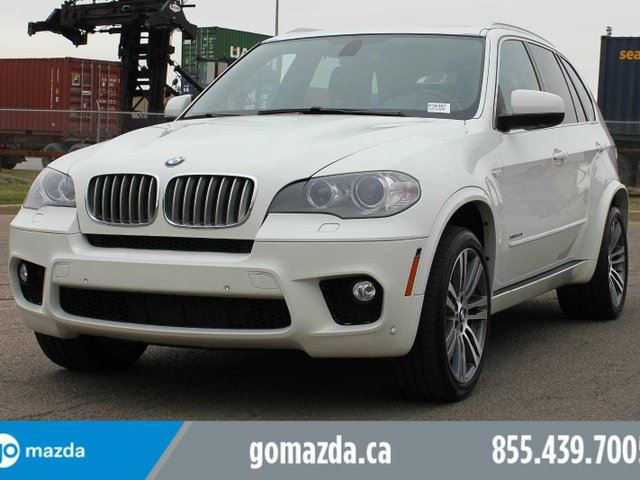 2013 BMW X5 xDrive50i AWD M SPORT PKG LEATHER NAVIGATION PANO ROOF 2 SETS OF RIMS AND TIRES in Edmonton, Alberta