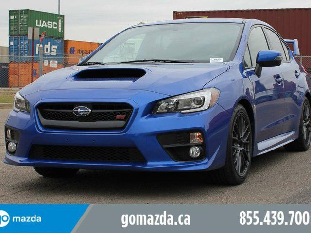 2015 SUBARU Impreza Sport AWD STi BRAND NEW TIRES SUNROOF SPOILER 1 OWNER ACCIDENT FREE LOCAL in Edmonton, Alberta