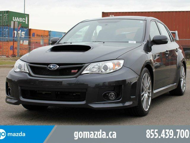 2012 SUBARU Impreza Sport AWD STi LEATHER SUNROOF in Edmonton, Alberta