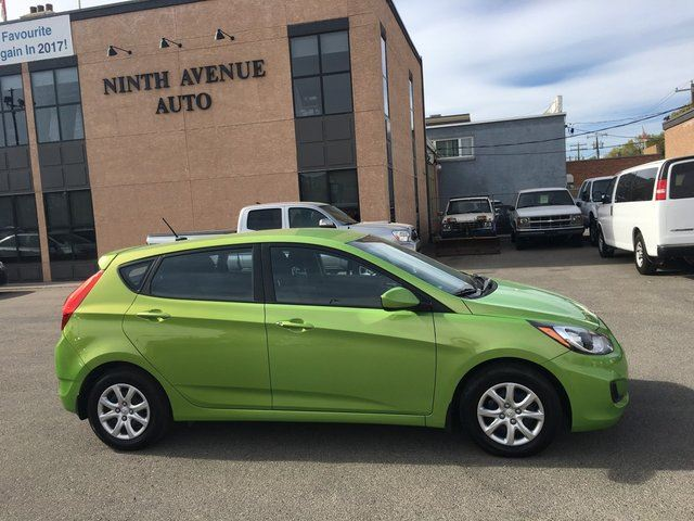 2013 Hyundai Accent GL 4dr Hatchback, Automatic, Heated seats in Calgary, Alberta