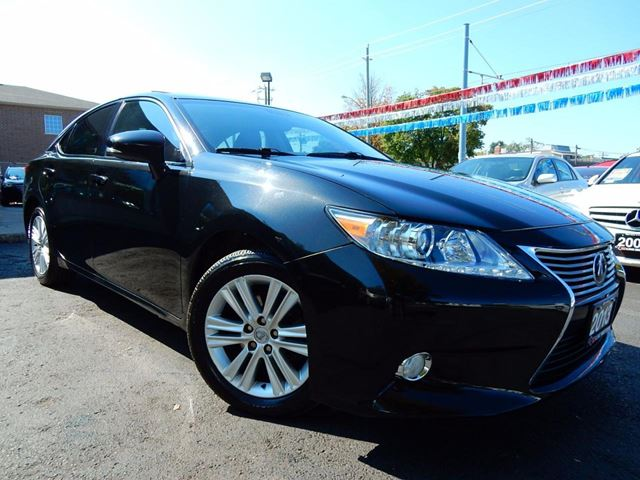2013 LEXUS ES 350 PREMIUM  LEATHER.ROOF  BACK UP CAM  BLUETOOTH in Kitchener, Ontario