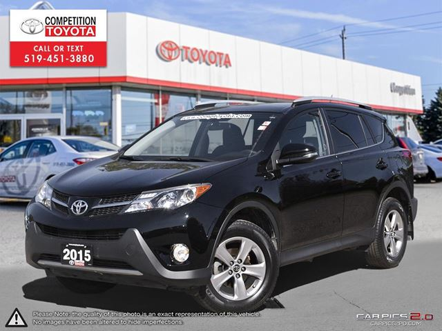 2015 TOYOTA RAV4 XLE Toyota Certified,  No Accidents, Toyota Serviced in London, Ontario