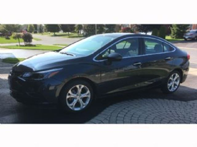 2016 CHEVROLET CRUZE 4dr Sdn Auto Premier ~Lots of Free K's in Mississauga, Ontario