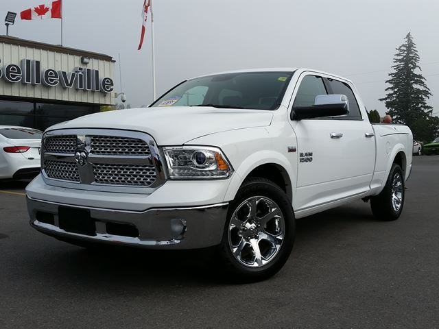 2016 DODGE RAM 1500 Laramie- RAMBOX - sunroof-back up camera in Belleville, Ontario