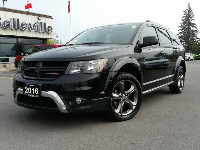 2016 DODGE Journey Crossroad-AWD-DVD-NAVIGATION in Belleville, Ontario