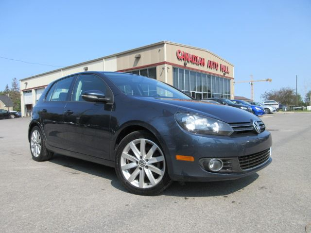 2013 VOLKSWAGEN Golf HIGHLINE, ROOF, LEATHER, 87K! in Stittsville, Ontario