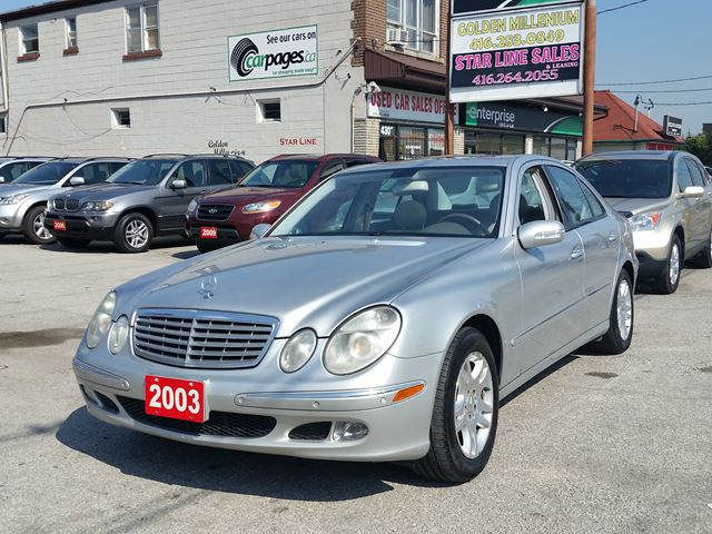 2003 MERCEDES-BENZ E-CLASS E320 MINT CONDITION in Scarborough, Ontario