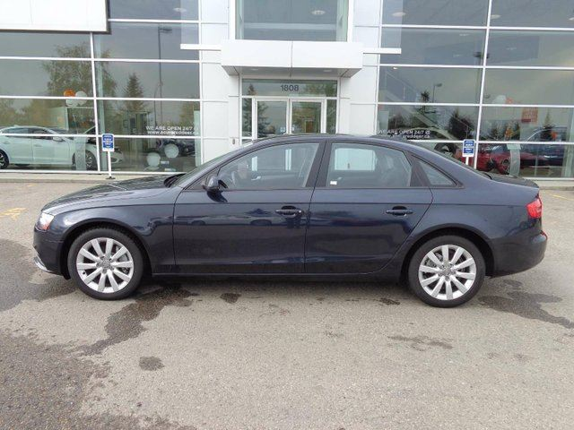 2013 AUDI A4 Premium, Heated Leather Int, Bluetooth, + Sunroof! in Red Deer, Alberta