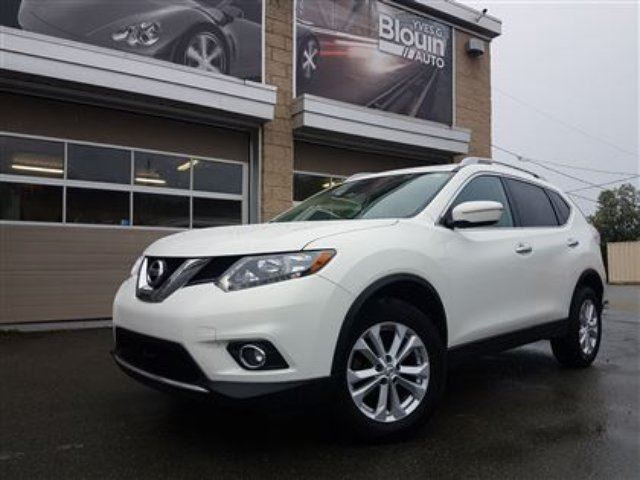 2014 Nissan Rogue SV, AWD, Toit pano, 74114km in Sainte-Marie, Quebec