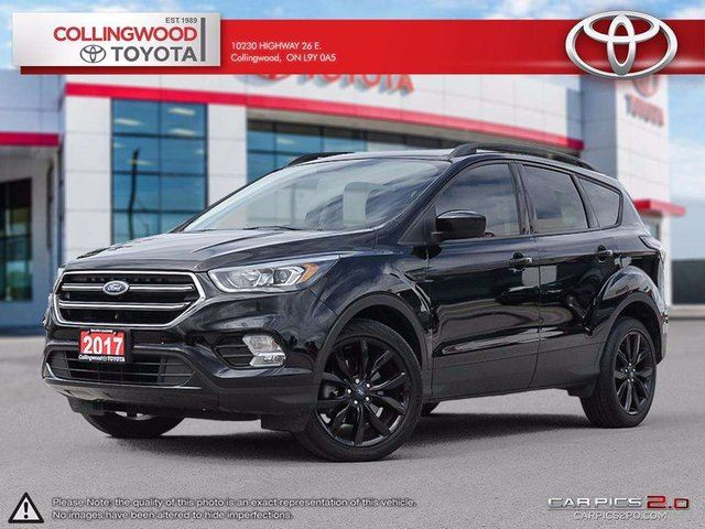 used 2017 ford escape se awd navigation and heated seats. Black Bedroom Furniture Sets. Home Design Ideas