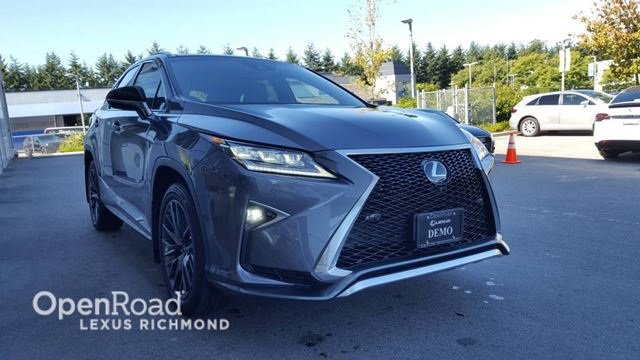 2017 LEXUS RX 350 F Sport Series 3 in Richmond, British Columbia