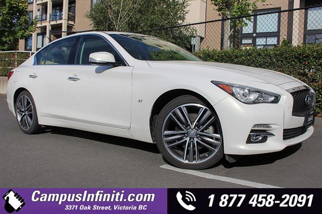 2015 INFINITI Q50 Limited wNAVI  LEATHER in Victoria, British Columbia