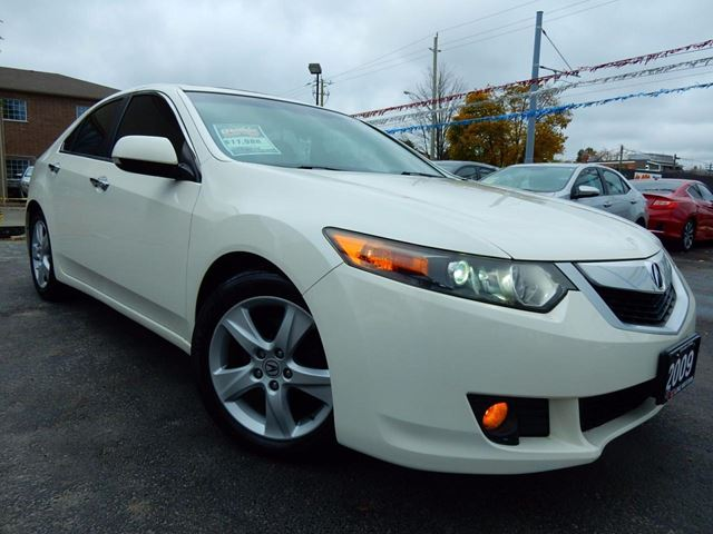 2009 ACURA TSX PREMIUM  LEATHER.ROOF   BLUETOOTH in Kitchener, Ontario